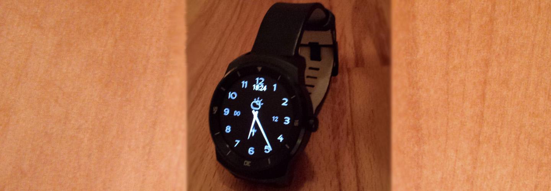 LG Watch R – Eine Smartwatch im Praxistest
